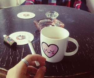 chill, cigarrtte, and love image