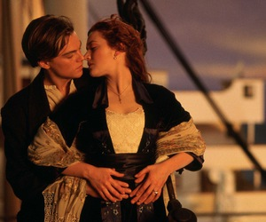 jack and rose, titanic, and movies image