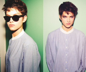 androgynous, beauty, and male image