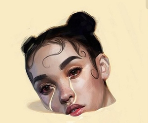 art, fka twigs, and cry image
