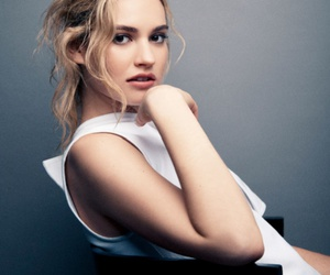 lily james, cinderella, and actress image