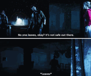 funny, Sam, and until dawn image