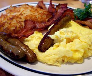 food, breakfast, and food porn image
