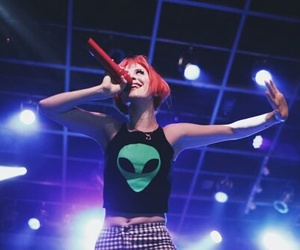 hayley williams, paramore, and alien image