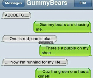 gummy bears and lol image