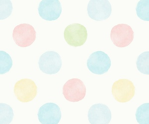 blue, pink, and green image