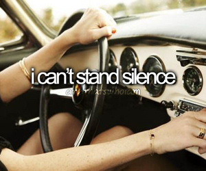 silence, me, and music image