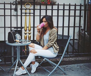 beautiful, brunette, and blogger image