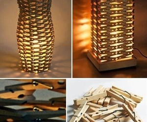 diy, lamp, and creative image