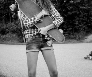 girl and skate image