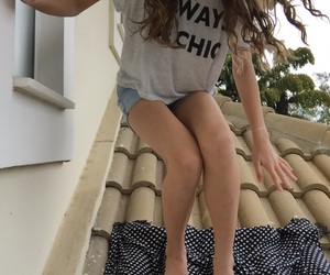chic, crazy, and girl image