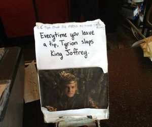 funny, game of thrones, and joffrey image