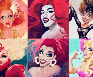 disney, drag, and inspired image