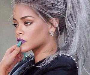 rihanna, hair, and nails image