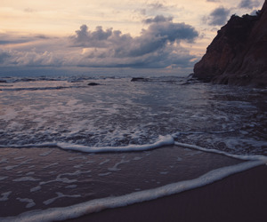 sea, beautiful, and beach image