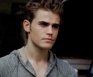 paul wesley, sexy, and the vampire diaries image