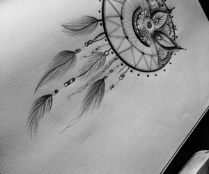 art, dreamcatcher, and artwork image