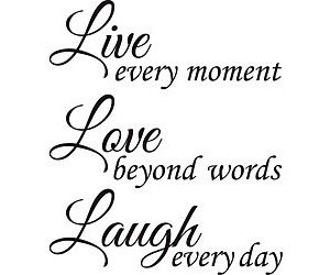 Karla, live love laugh, and laugh. image