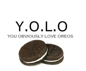oreo, yolo, and love image