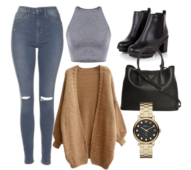 autumn, elegant, and outfit image