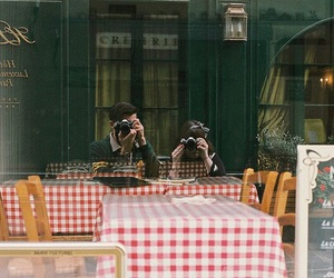 photography, couple, and vintage image