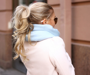 blonde, curls, and rubia image