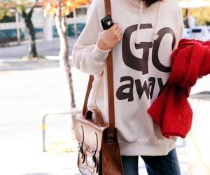fashion, girl, and go away image