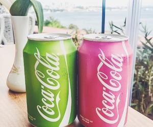 city, love, and coca cola image