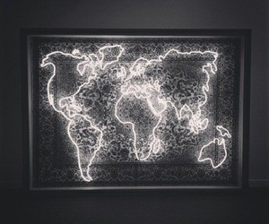 world, light, and travel image