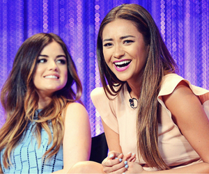 girls, smile, and shay mitchell image