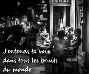 amour, francais, and french image