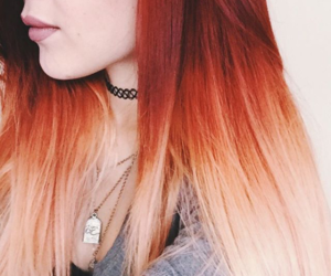 hair, red, and cool image