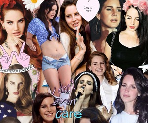 lana del rey and Collage image