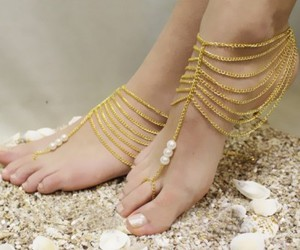 cool, jewelry, and anklet image