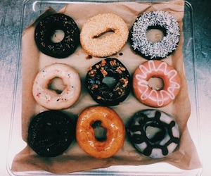 donuts, ñami, and love image