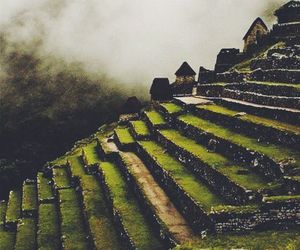 place, machu picchu, and peru image