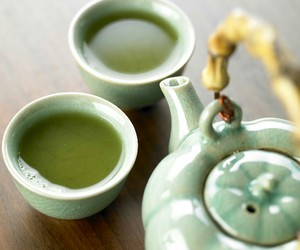 green tea image