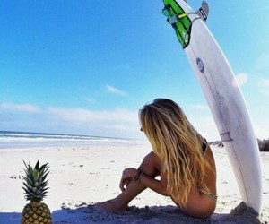 beach, beautiful, and hipster image