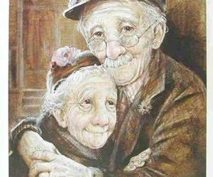old, couple, and love image