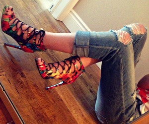 colour, heels, and laces image