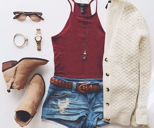 acessories, booties, and fashion image