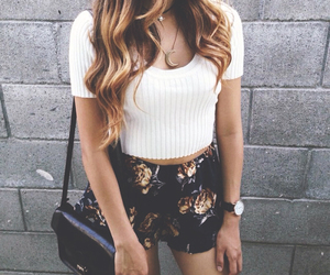 fashion, hair, and outfit image