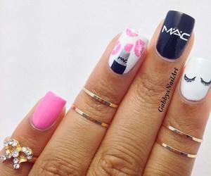 nails, art, and mac image