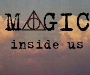 magic and harry potter image