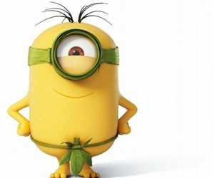 background, funny, and minions image