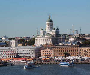finland and city image