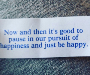 fortune cookie, happy, and pursuit of happiness image