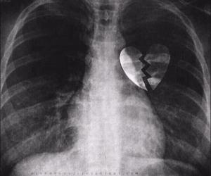 heart, broken, and broken heart image