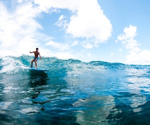 surfing and waves image