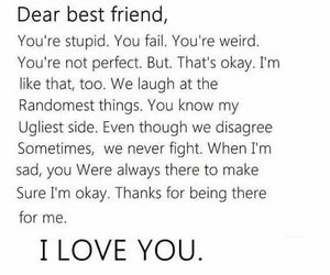 best friend, life, and true image